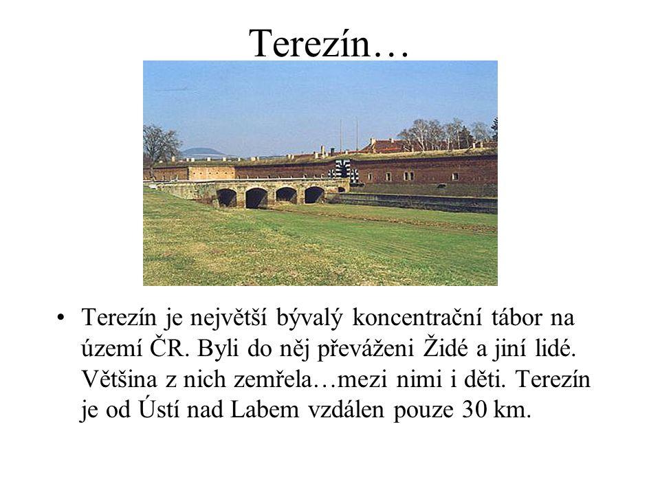 Terezín…