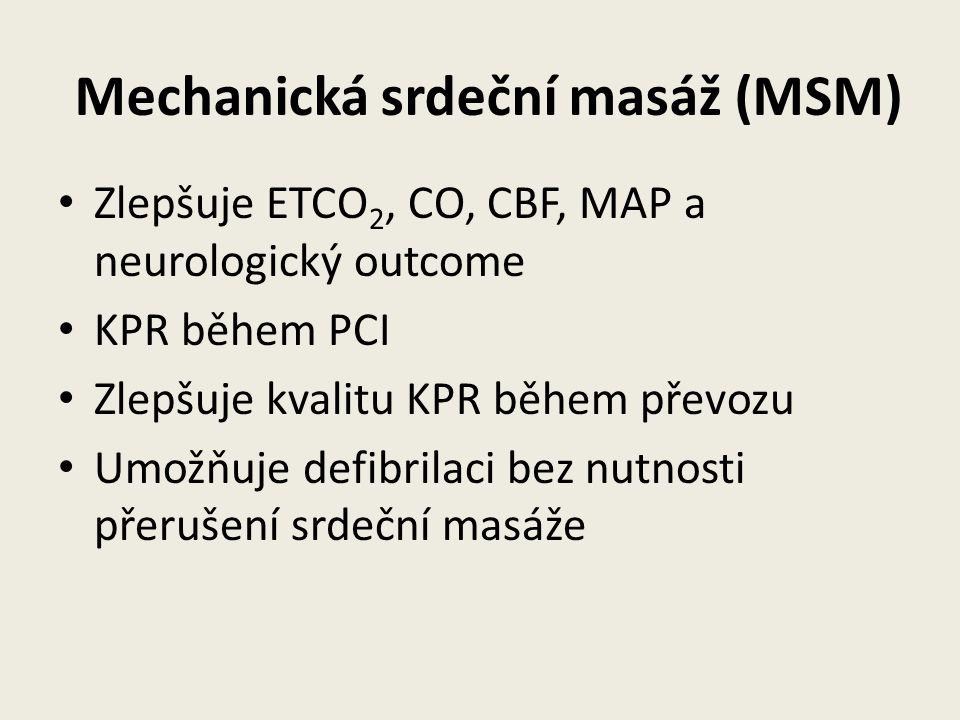 Mechanická srdeční masáž (MSM)