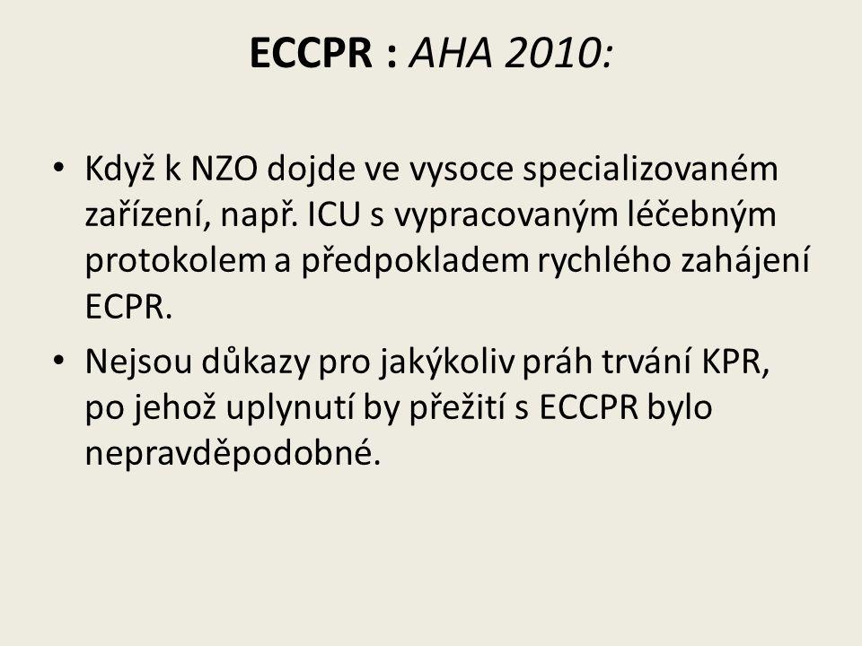 ECCPR : AHA 2010:
