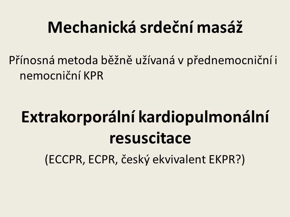 Mechanická srdeční masáž