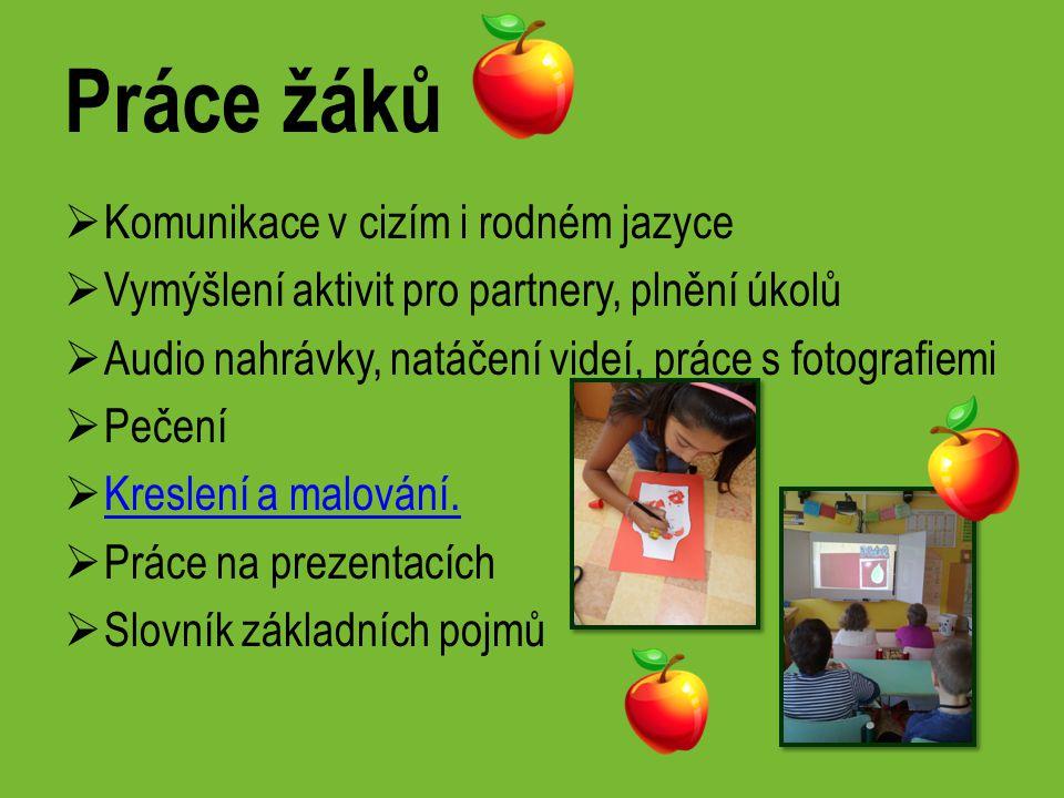 Práce žáků Komunikace v cizím i rodném jazyce