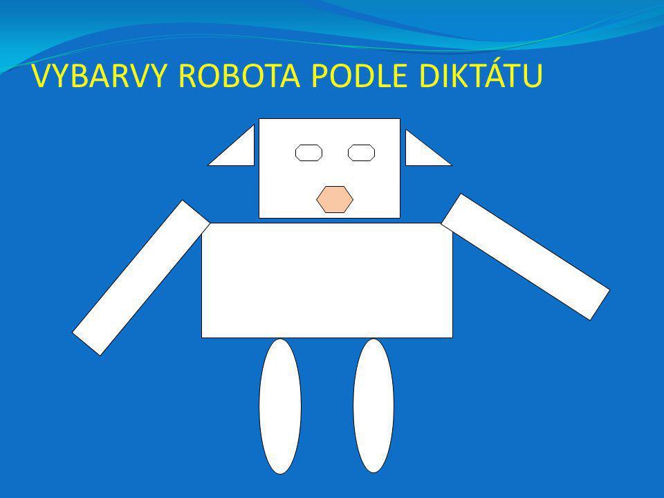 VYBARVY ROBOTA PODLE DIKTÁTU