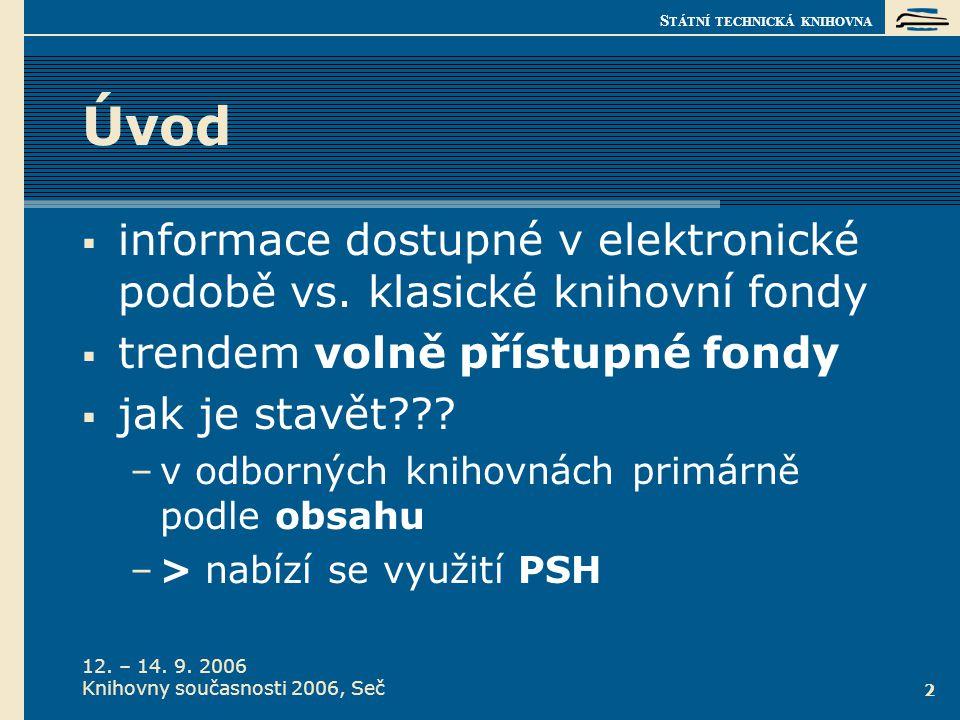 Co je PSH  česko-anglický heslář stromová struktura