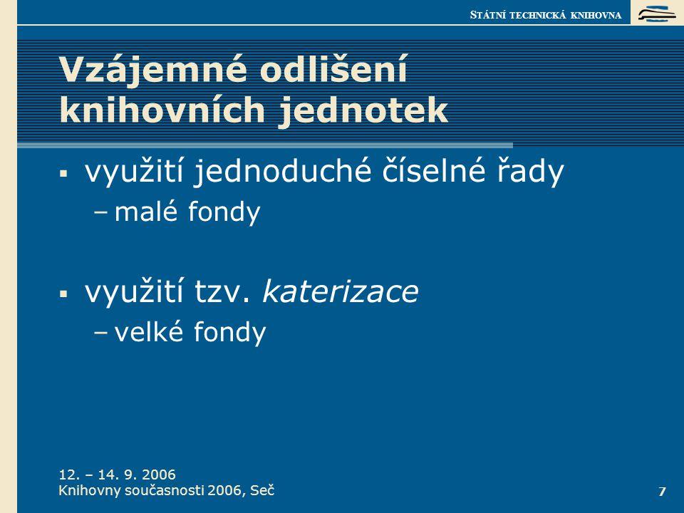jméno autora Metoda katerizace.