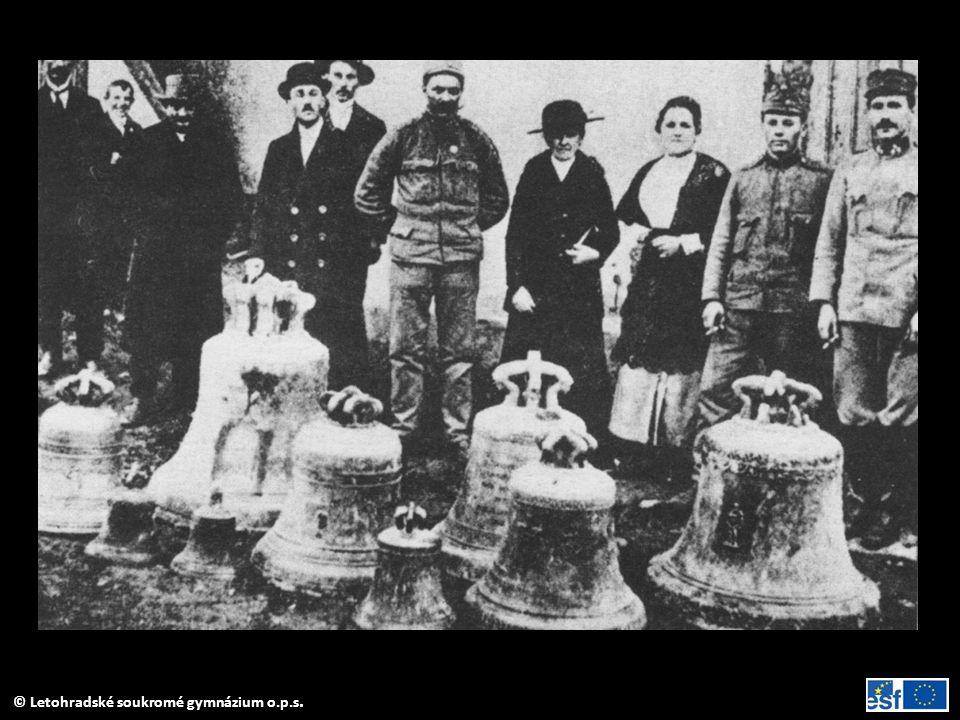 Zabavování kostelních zvonů pro válečné účely