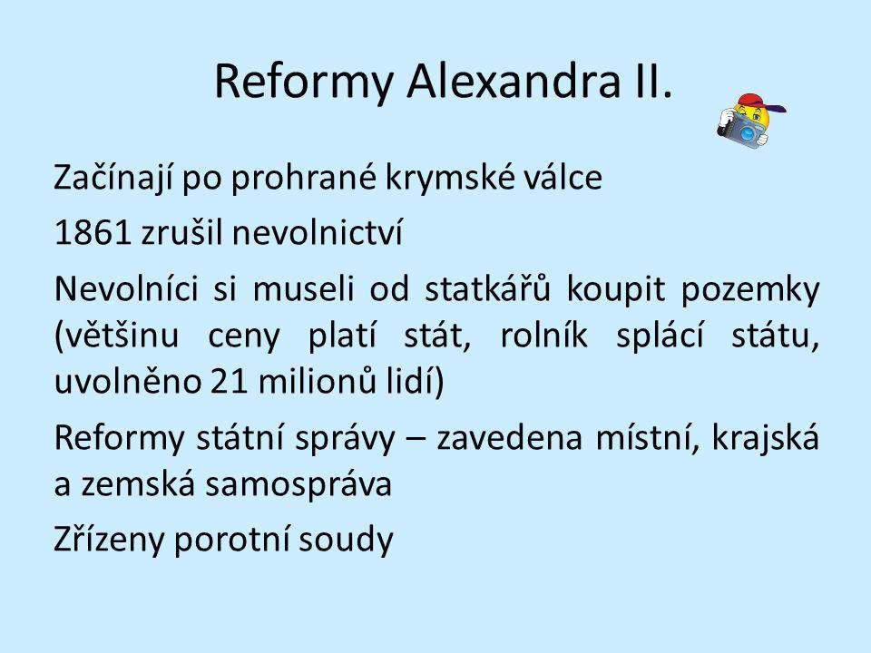 Reformy Alexandra II.