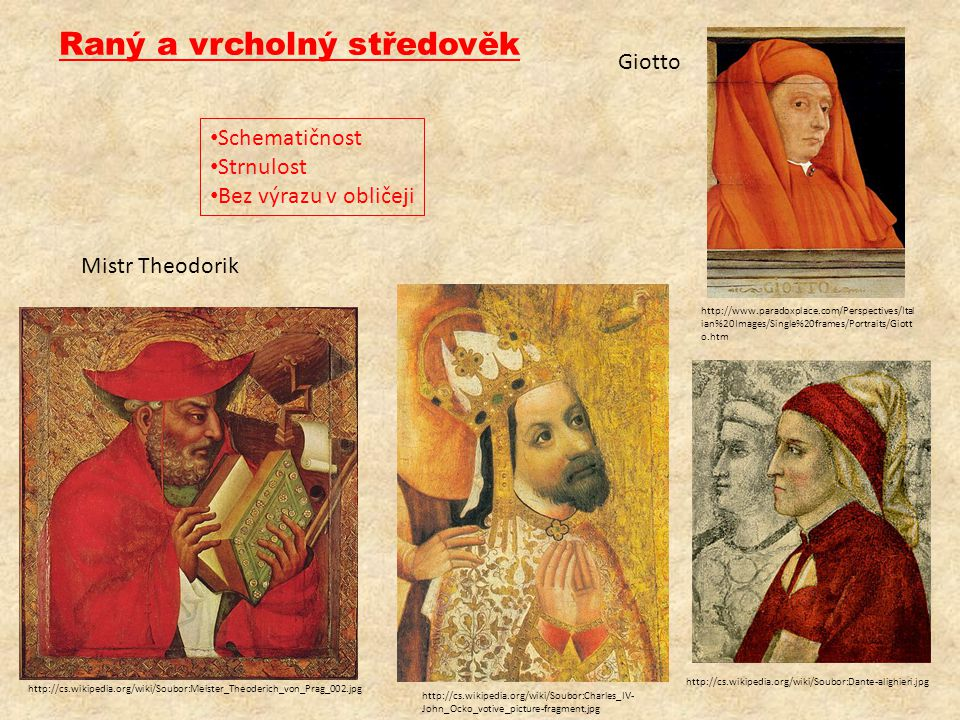 Raný a vrcholný středověk