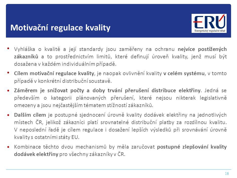 Motivační regulace kvality