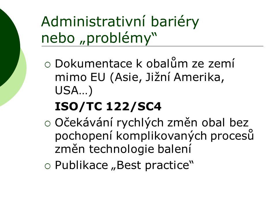 """Administrativní bariéry nebo """"problémy"""