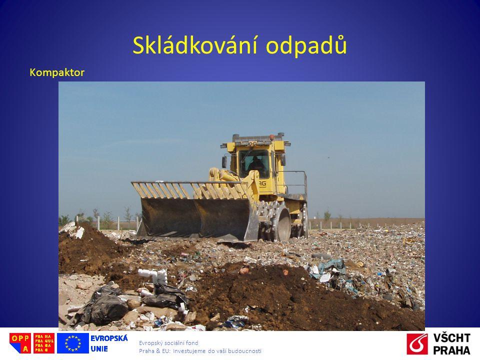 Skládkování odpadů Kompaktor