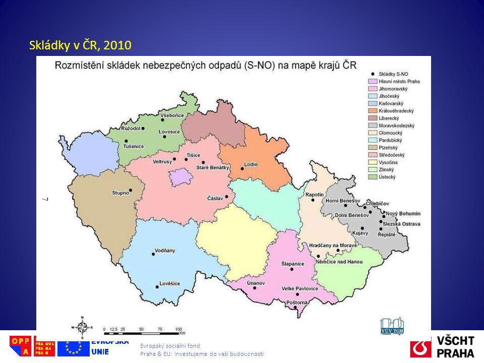 Skládky v ČR, 2010
