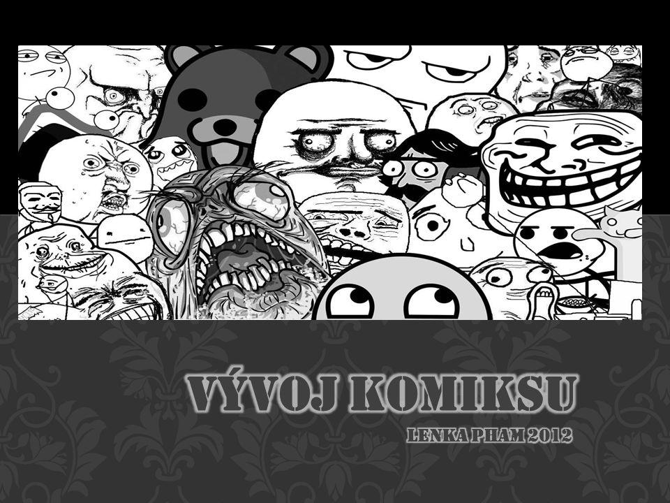 Vývoj komiksu Lenka pham 2012