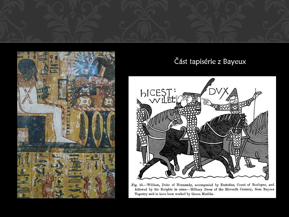 Část tapisérie z Bayeux