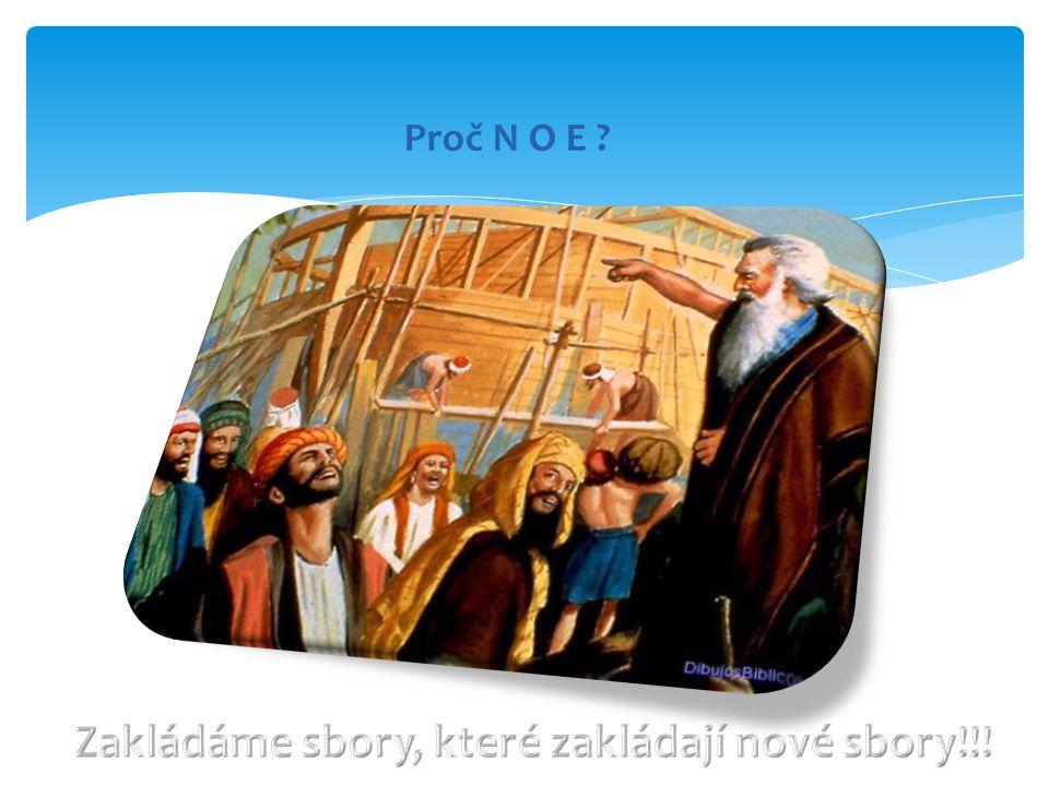 Zakládáme sbory, které zakládají nové sbory!!!