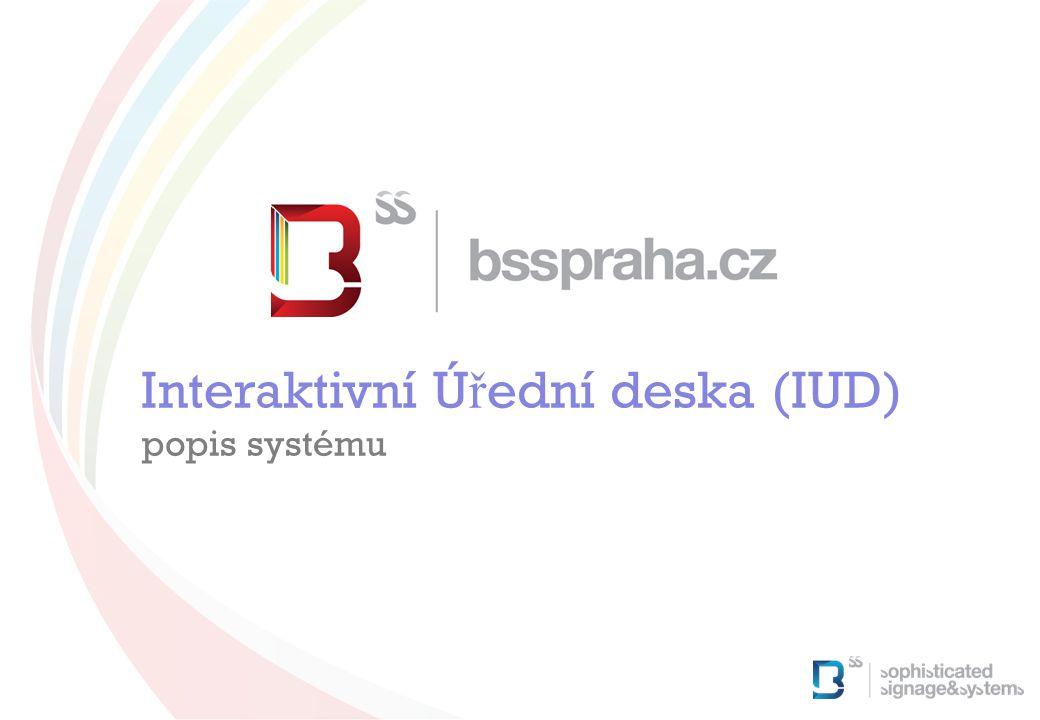 Interaktivní Úřední deska (IUD)