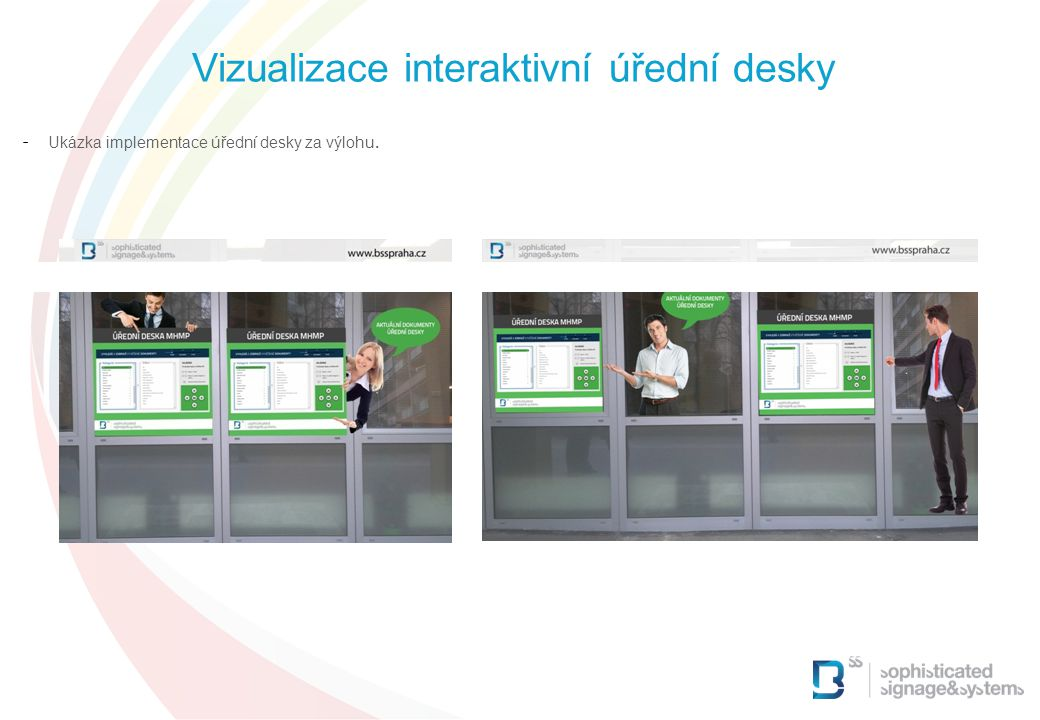 Vizualizace interaktivní úřední desky