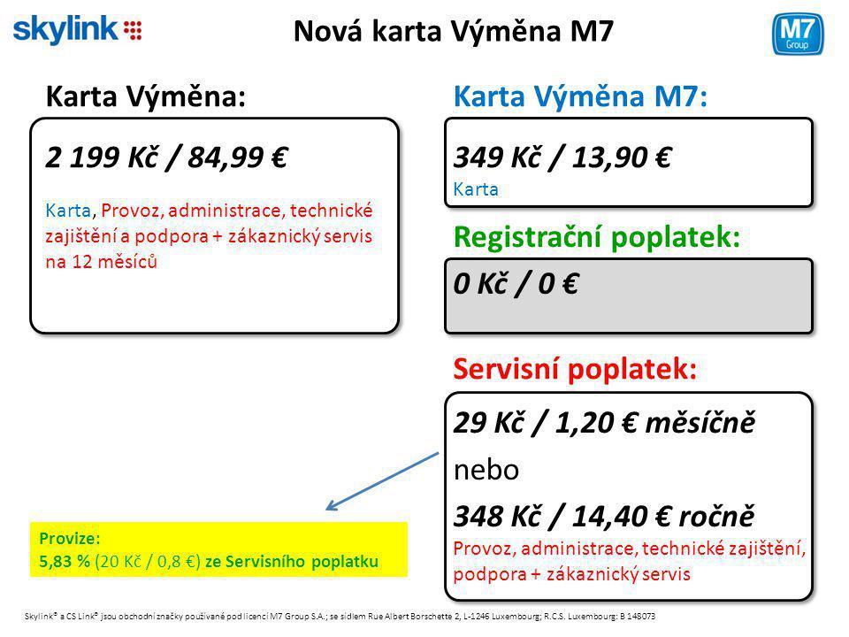 Registrační poplatek: 0 Kč / 0 €