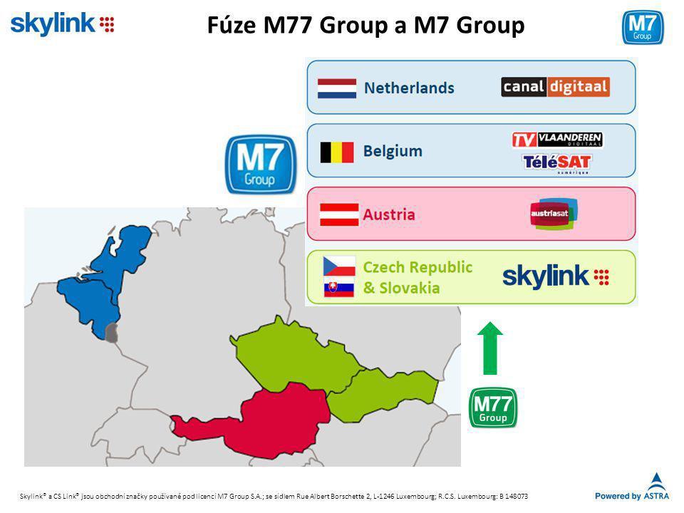 Fúze M77 Group a M7 Group