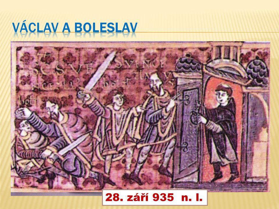 Václav a Boleslav 28. září 935 n. l.