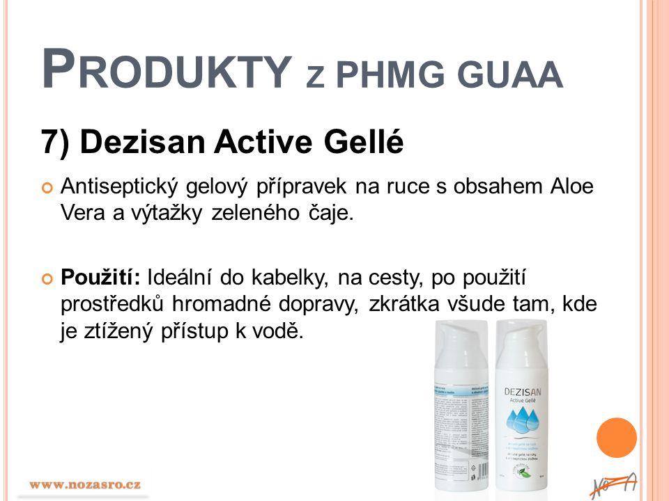 Produkty z PHMG GUAA 7) Dezisan Active Gellé