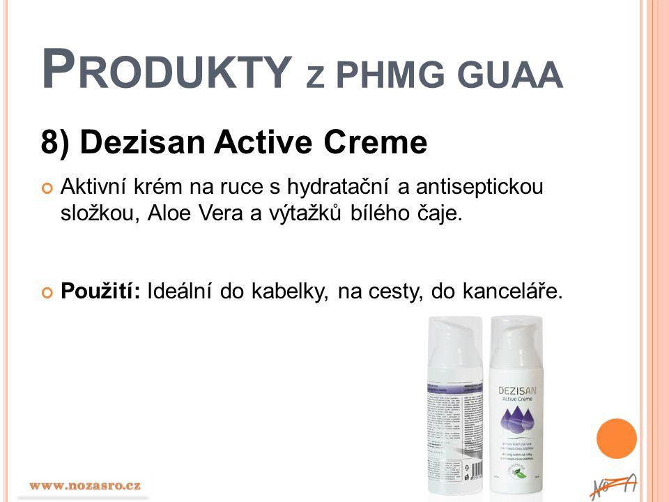 Produkty z PHMG GUAA 8) Dezisan Active Creme