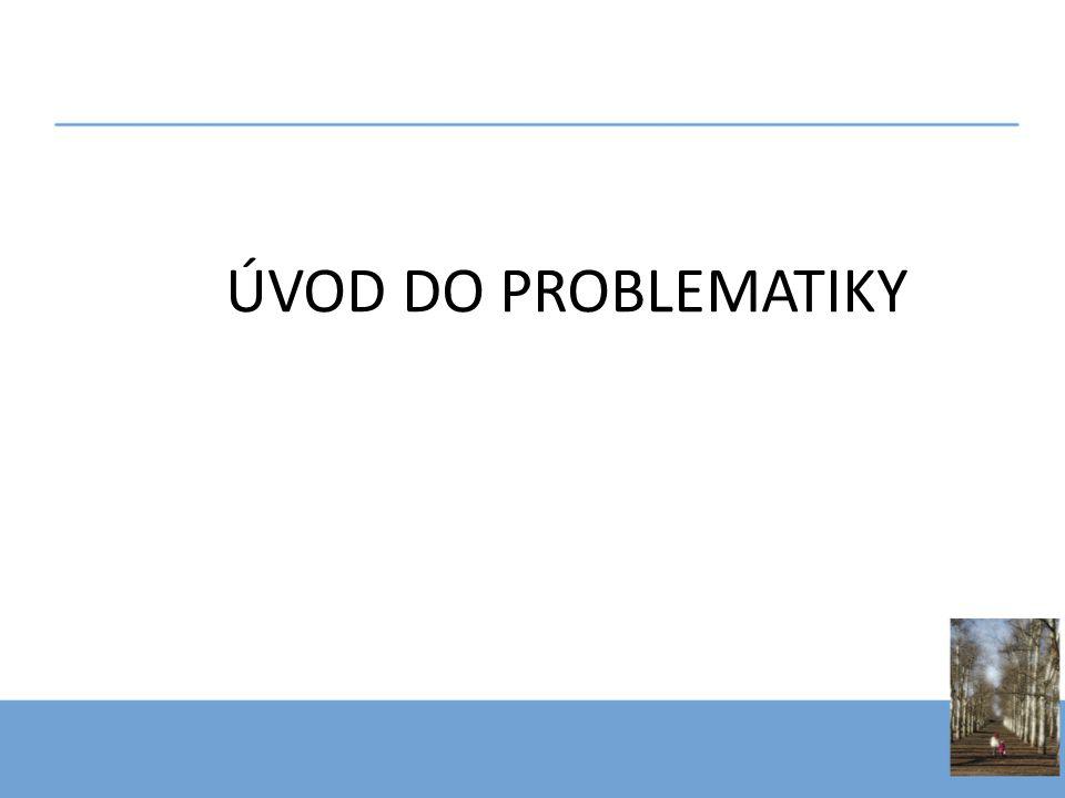 ÚVOD DO PROBLEMATIKY