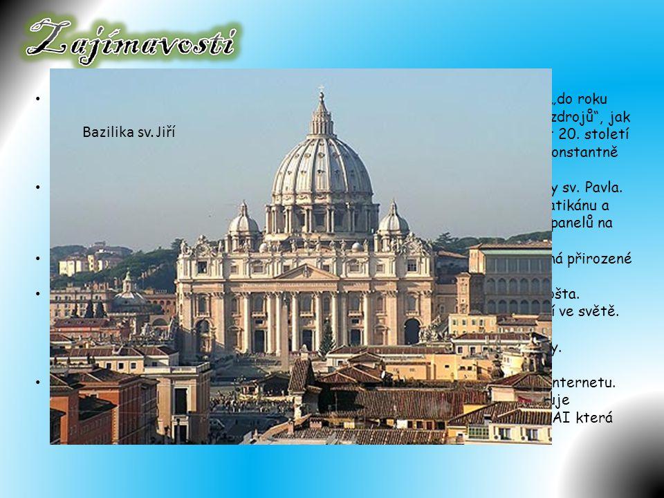 Zajímavosti Bazilika sv. Jiří