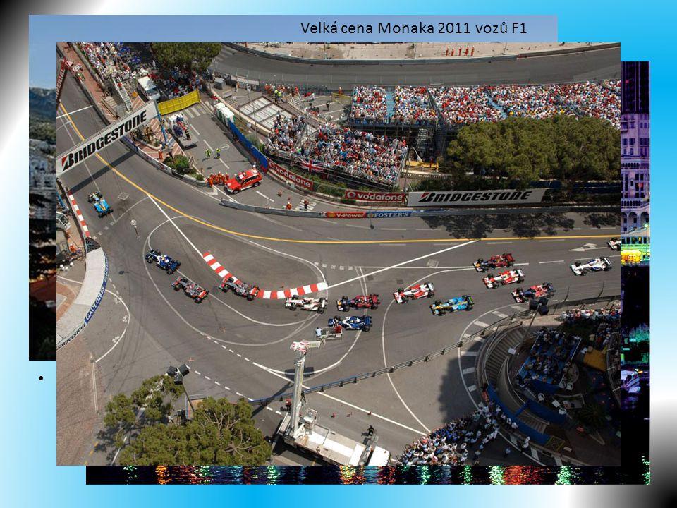 Zajímavosti Velká cena Monaka 2011 vozů F1 Monte Carlo