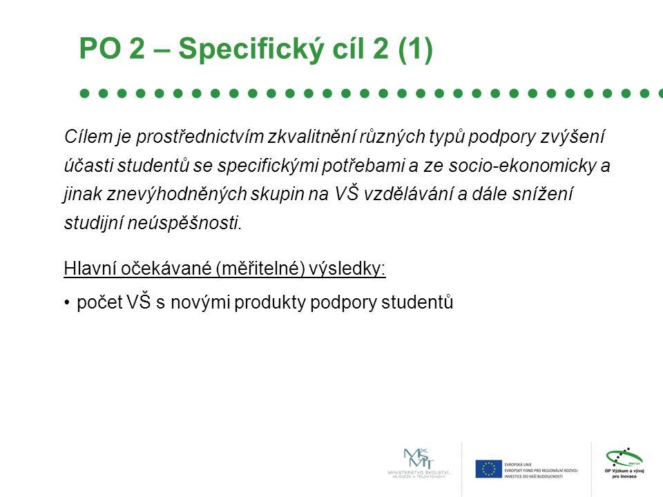 PO 2 – Specifický cíl 2 (1)