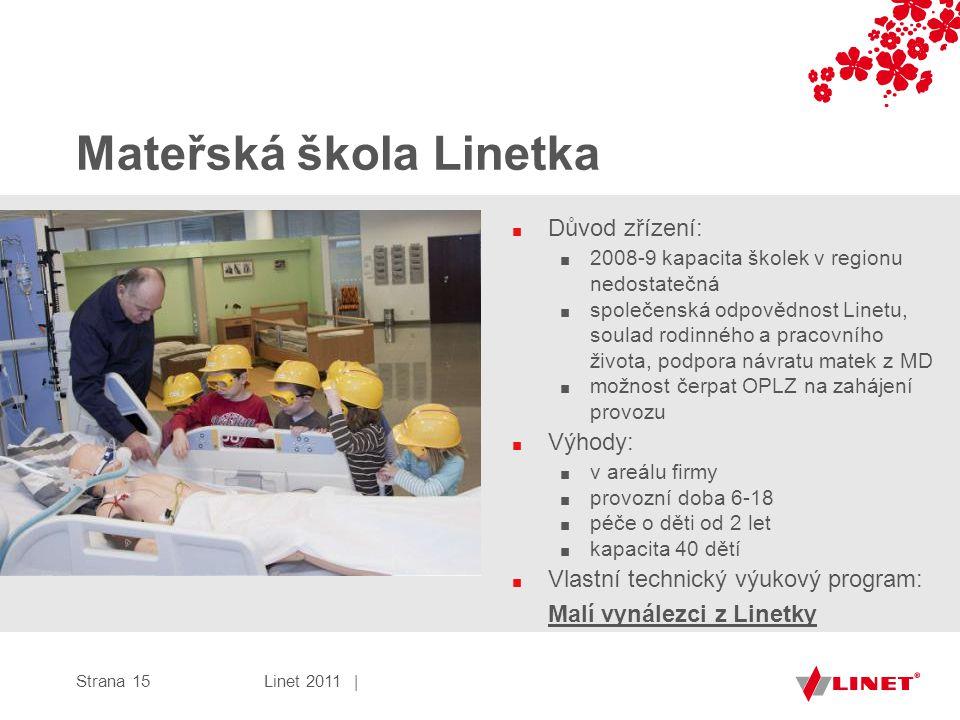 Mateřská škola Linetka