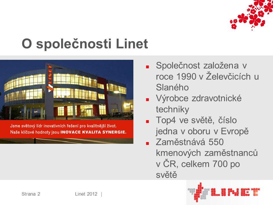 O společnosti Linet Společnost založena v roce 1990 v Želevčicích u Slaného. Výrobce zdravotnické techniky.