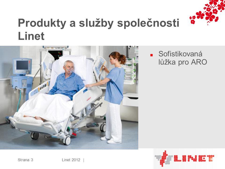 Produkty a služby společnosti Linet