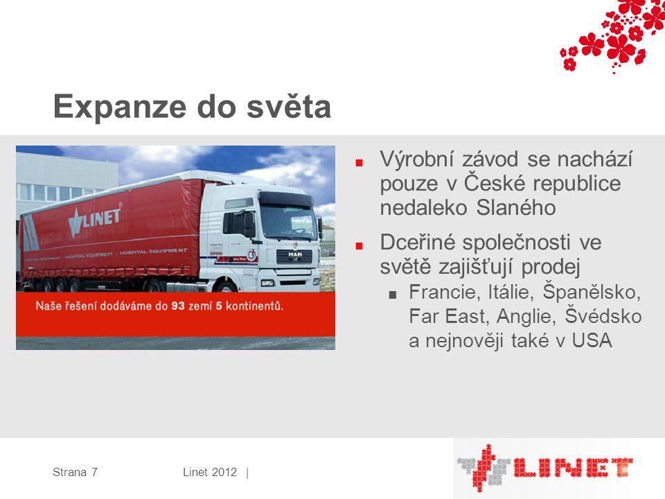 Expanze do světa Výrobní závod se nachází pouze v České republice nedaleko Slaného. Dceřiné společnosti ve světě zajišťují prodej.