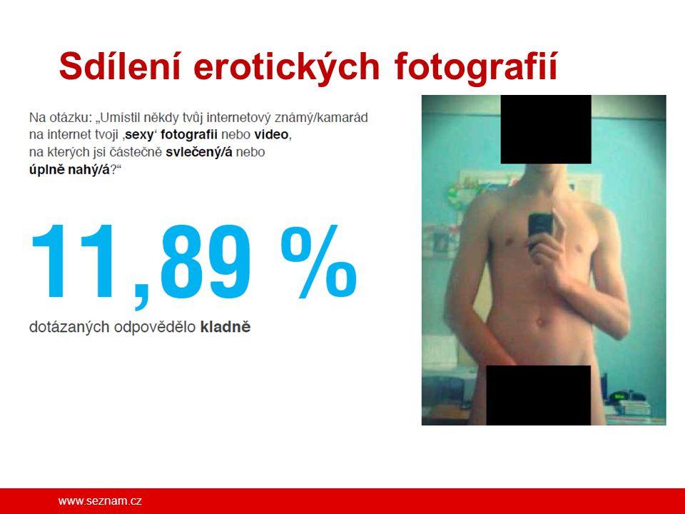 Sdílení erotických fotografií