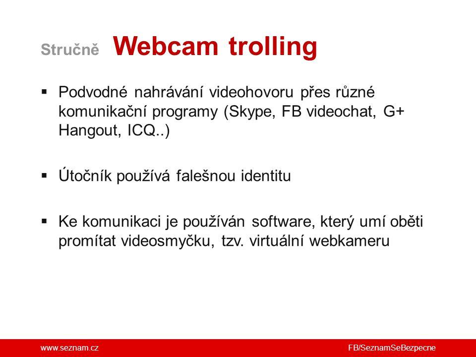 Stručně Webcam trolling
