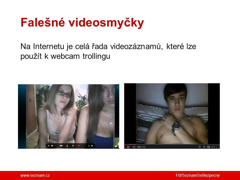 Falešné videosmyčky Na Internetu je celá řada videozáznamů, které lze použít k webcam trollingu.