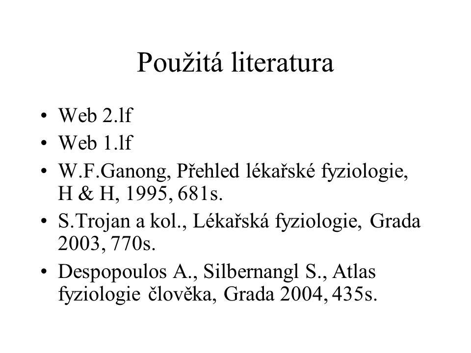 Použitá literatura Web 2.lf Web 1.lf