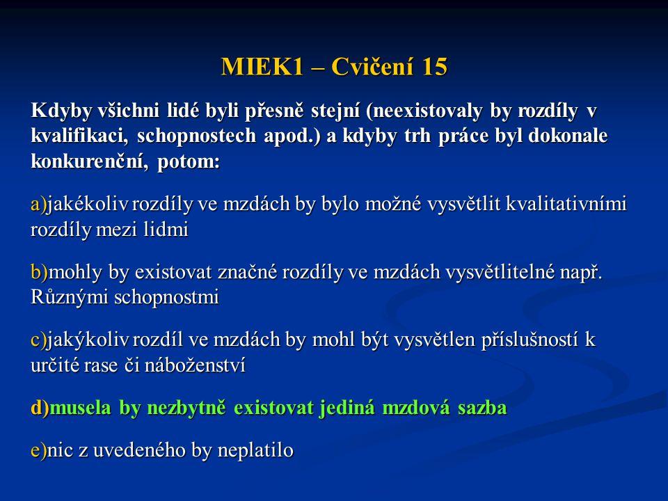 MIEK1 – Cvičení 15