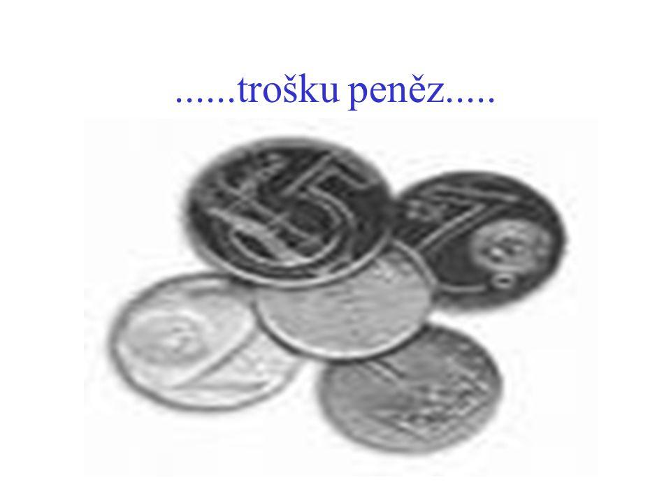 ......trošku peněz.....