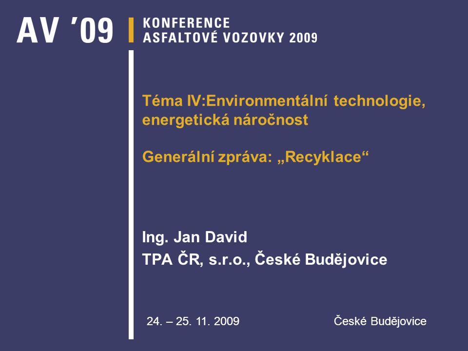 Ing. Jan David TPA ČR, s.r.o., České Budějovice