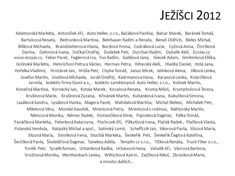 JEŽÍŠCI 2012