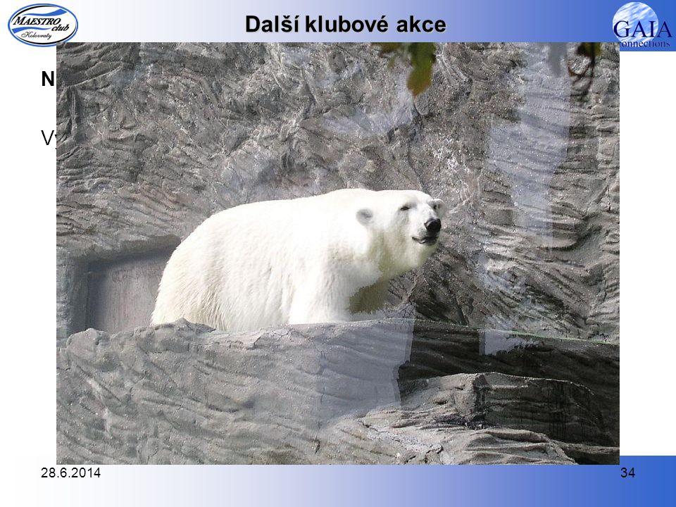 Další klubové akce Návštěva pražské Zoo - 26.8.2007