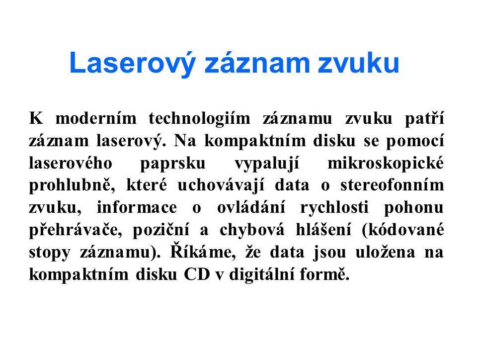 Laserový záznam zvuku