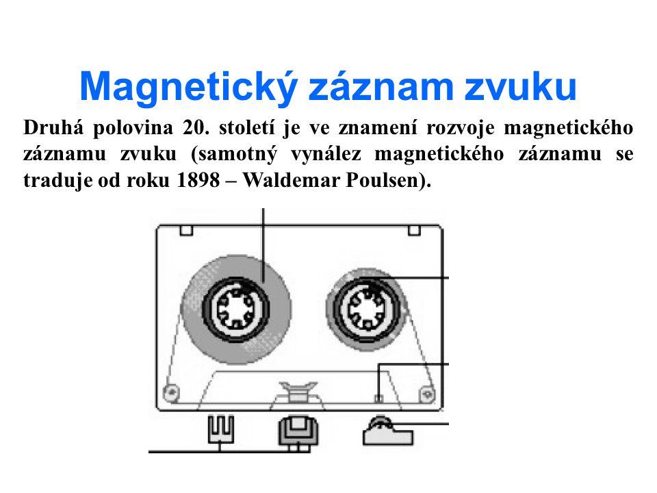 Magnetický záznam zvuku