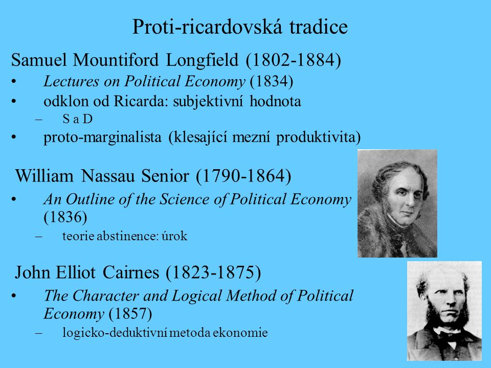 Proti-ricardovská tradice