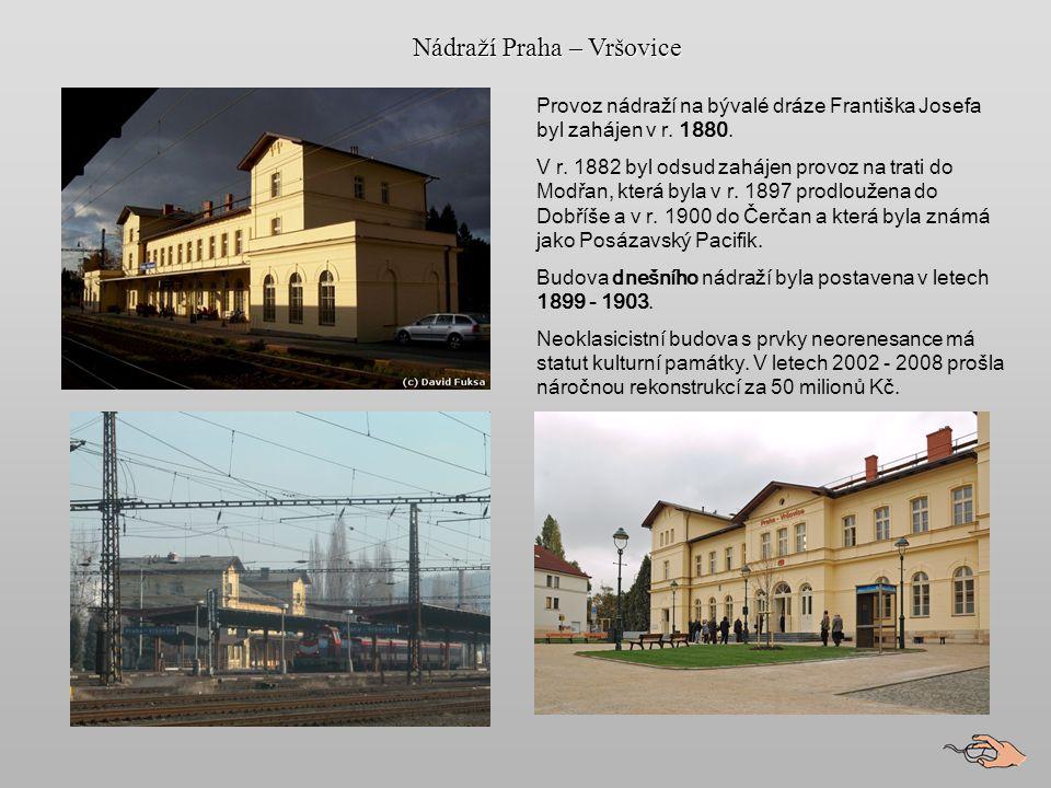 Nádraží Praha – Vršovice