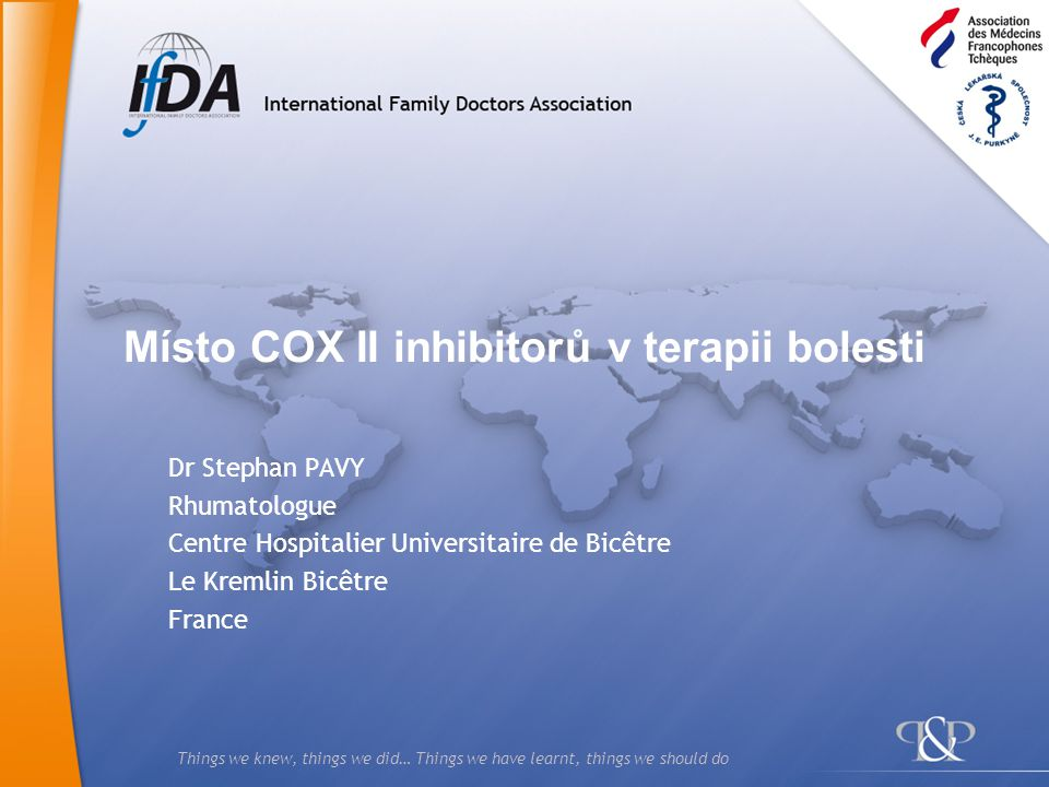 Místo COX II inhibitorů v terapii bolesti