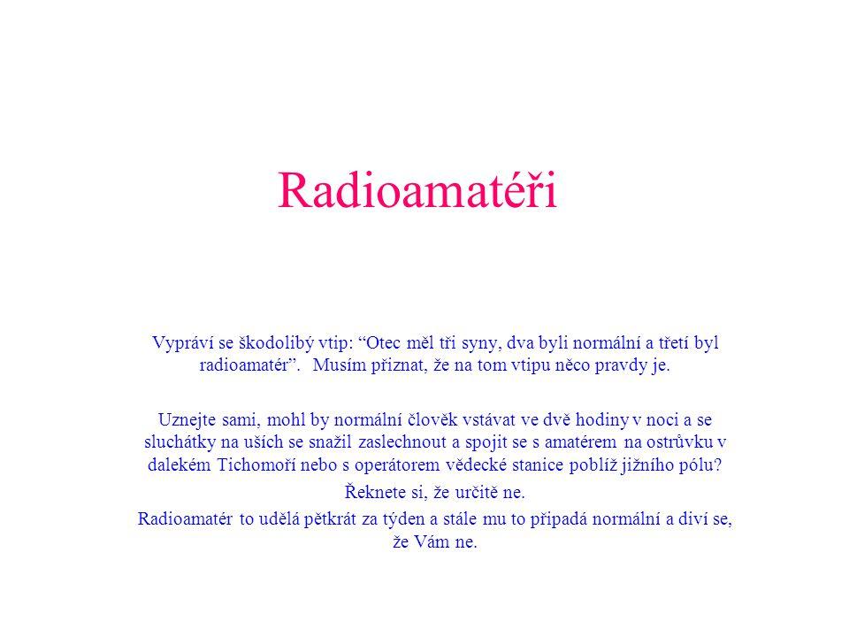 Radioamatéři