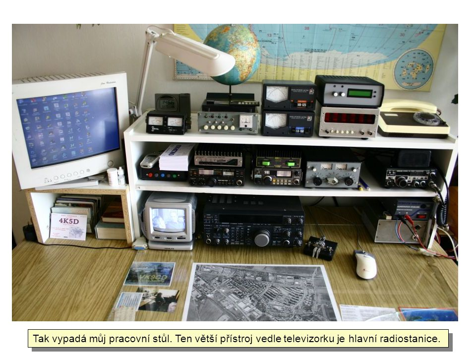 Tak vypadá můj pracovní stůl