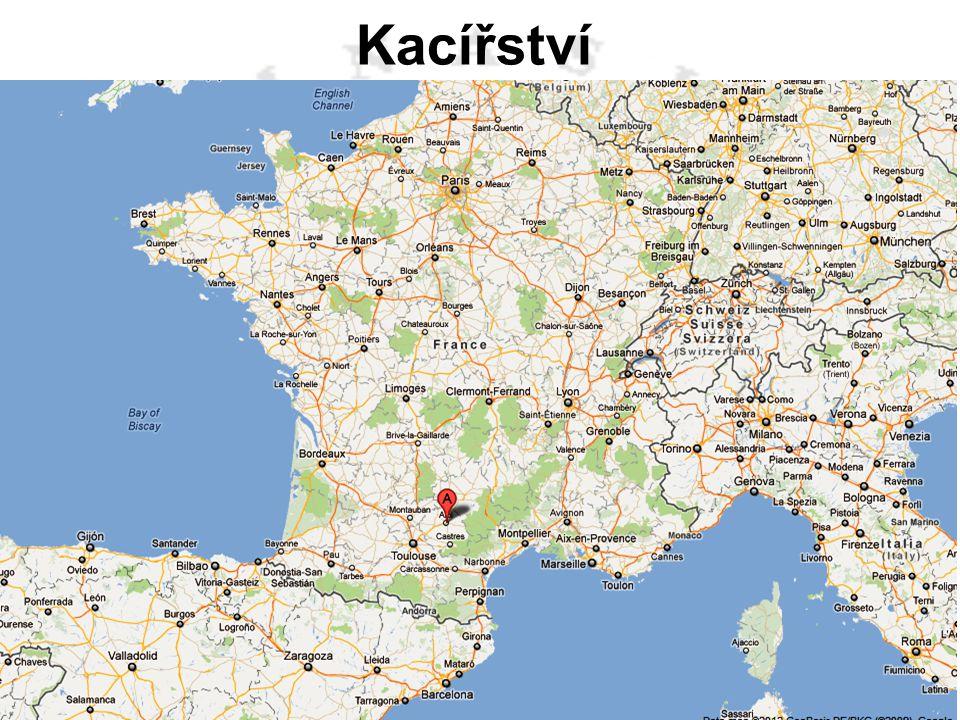 Kacířství Albigenští – kataři - kacíři – ve Francii kolem města Albi od 12. stol.